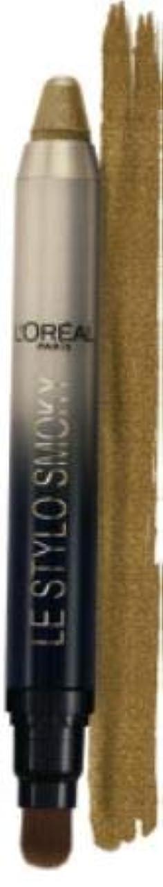 ディンカルビル前文晴れL'OREAL Le Stylo Smoky Eye Shadow Le Grand または 109 1.5g -Le Grand Or - True Metallic Warm Yellow Gold