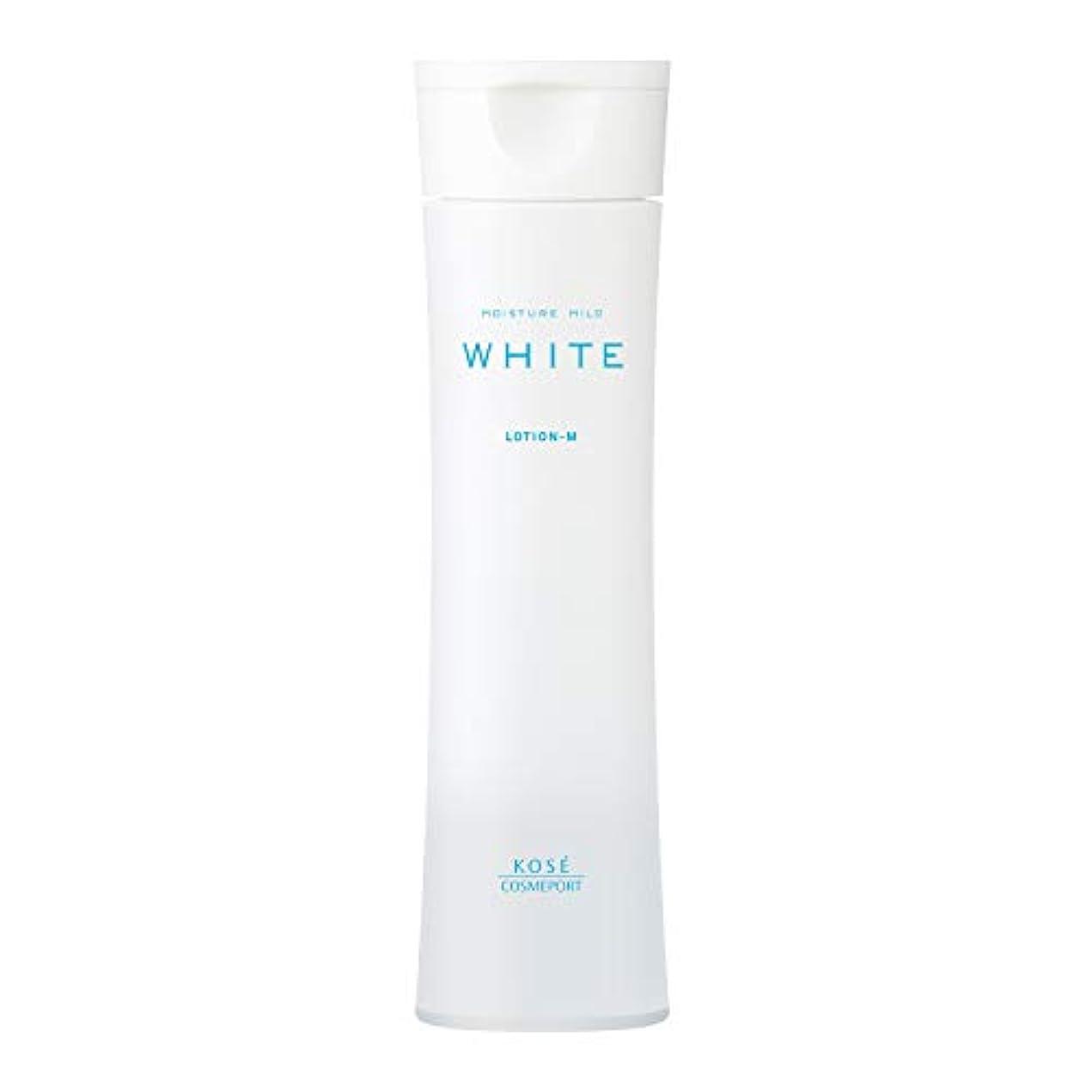 迷彩きしむ不足モイスチュアマイルド ホワイト ローションM (しっとり 化粧水) 180mL