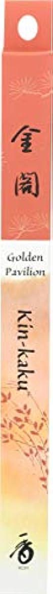 有効スピン周囲(1, 35 Stick(s)) - Japanese Incense Sticks Kin-kaku Golden Pavilion (1x35St) Shoyeido