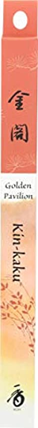 遅い連邦産地(1, 35 Stick(s)) - Japanese Incense Sticks Kin-kaku Golden Pavilion (1x35St) Shoyeido