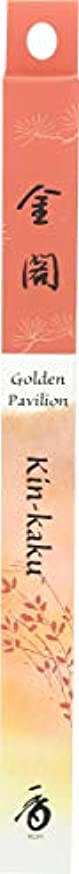 ぴったりふりをする写真(1, 35 Stick(s)) - Japanese Incense Sticks Kin-kaku Golden Pavilion (1x35St) Shoyeido