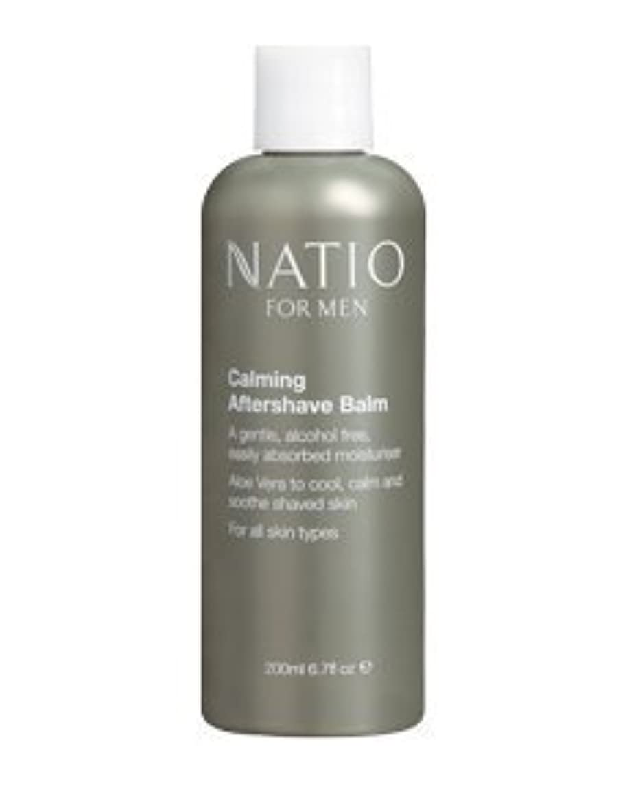配管工平手打ち禁止【NATIO FOR MEN Calming Aftershave Balm】 ナティオ アフターシェーブ バーム [海外直送品]