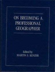 Download On Becoming a Professional Geographer 0675206790
