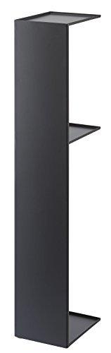 タワー スリムトイレラック ブラック