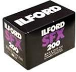 Ilford SFX 200赤外線135–36ブラック&ホワイト印刷Film ( 35mm 36-exp iso-200) 3パック