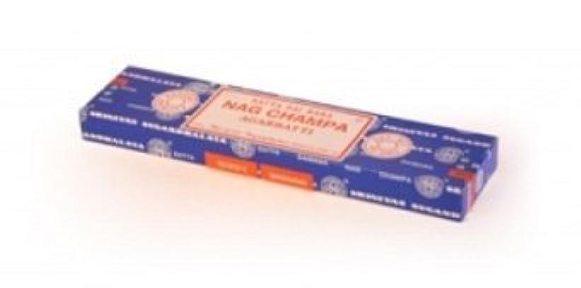 規制投げるシングルNag Champa Incense 40g by Shrinivas Sugandhalaya [並行輸入品]