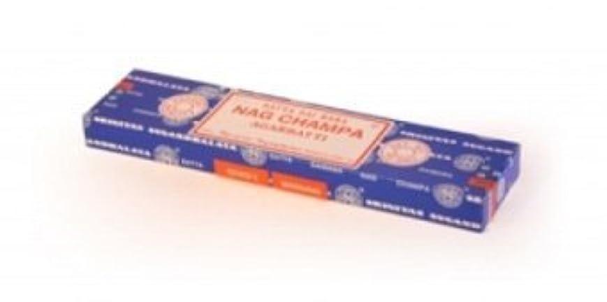 雨腸影響を受けやすいですNag Champa Incense 40g by Shrinivas Sugandhalaya [並行輸入品]
