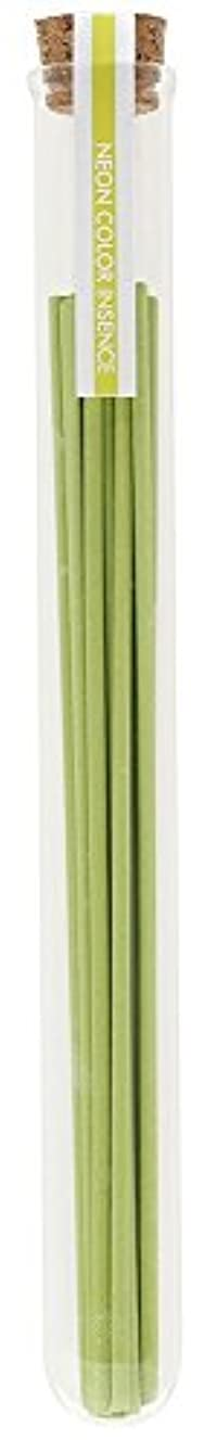 残るサージフェリーノルコーポレーション 薫寿堂 お香 ネオンカラーインセンス 13本入り 新緑のかおり OI-NEI-1-3