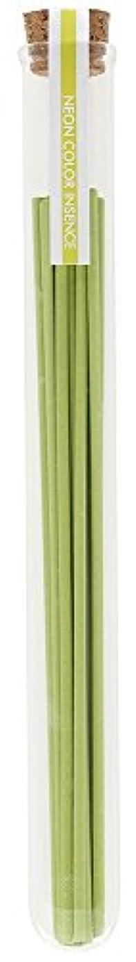 楕円形酸っぱいわずかにノルコーポレーション 薫寿堂 お香 ネオンカラーインセンス 13本入り 新緑のかおり OI-NEI-1-3