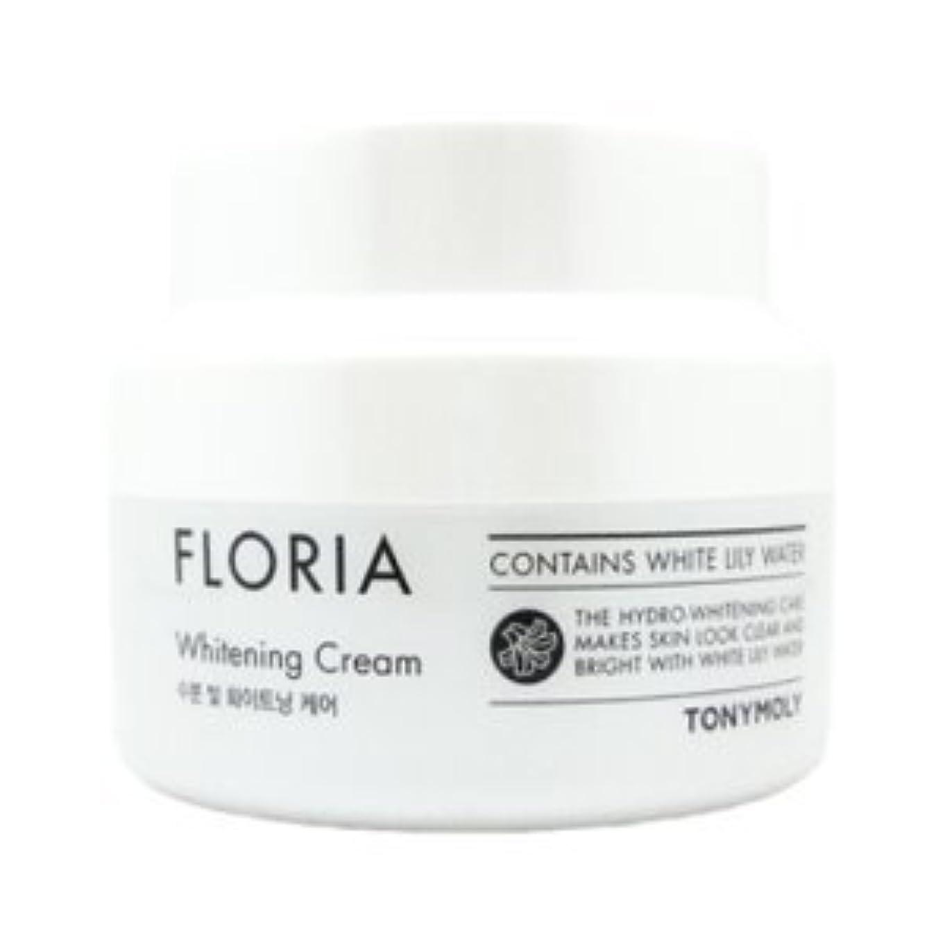 主に破壊的な公TONYMOLY Floria Whitening Cream 60ml/トニーモリー フロリア ホワイトニング クリーム 60ml [並行輸入品]