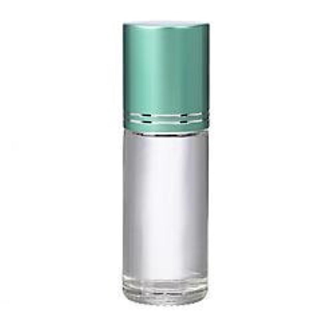 バースト錫気取らない4 Bottles Large 30ml Roll On Empty Glass Bottles for Essential Oils Refillable 1 Oz Glass Roller Ball Roll-On...