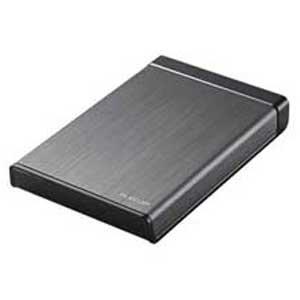 エレコム USB3.0対応 ポータブルハードディスク 500GB 【WEB限定商品】ELP-XEDUBKシリーズ ELP-XED005UBK