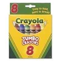 Crayola 8-Pack Crayons - Jumbo (So Big) Size Size Pack Of 2 [並行輸入品]