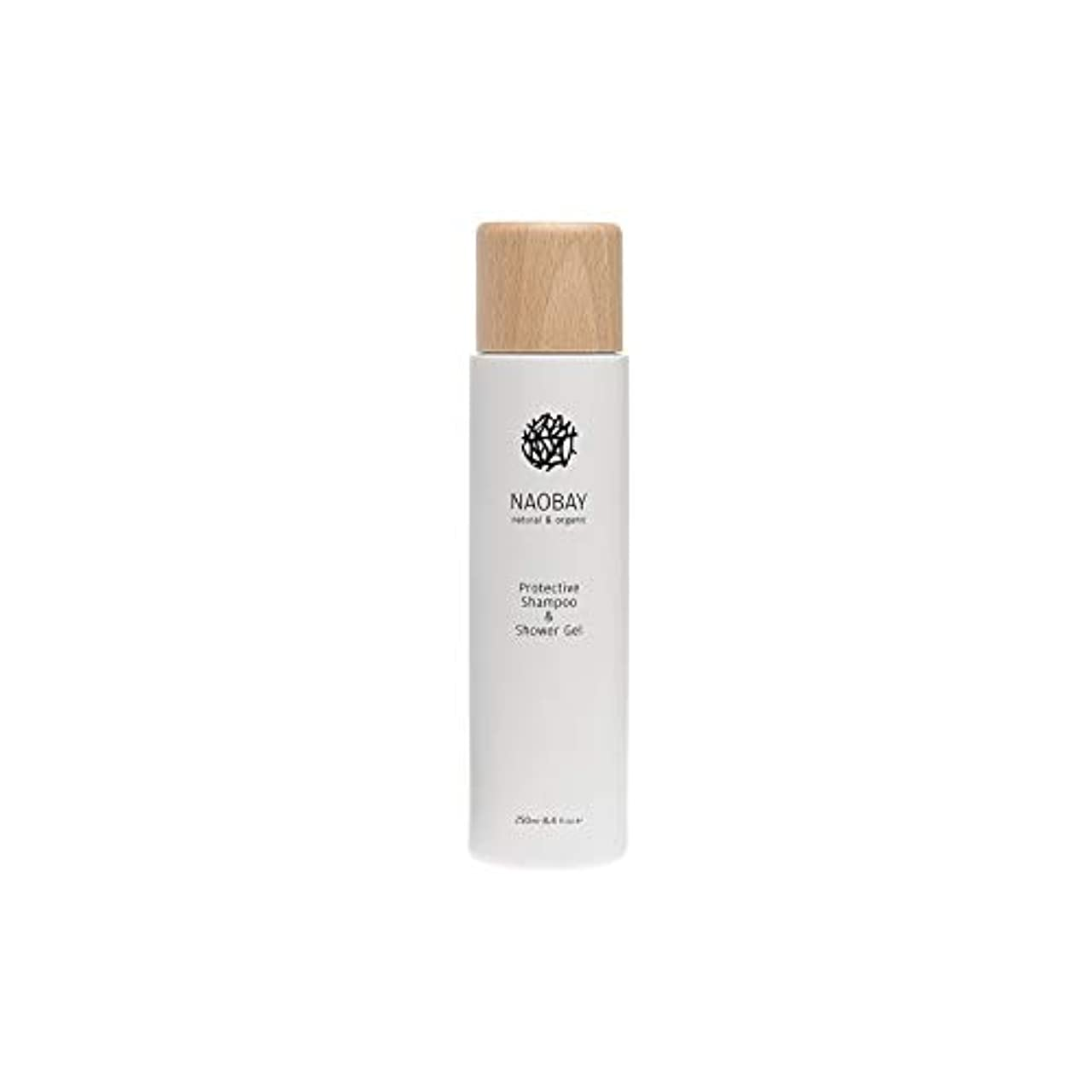 言い訳ジュラシックパークカバー[Naobay] Naobay保護シャンプー&シャワージェル250ミリリットル - NAOBAY Protective Shampoo & Shower Gel 250ml [並行輸入品]