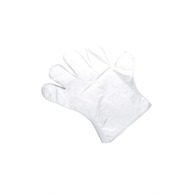 熱狂的なフルーツスケルトン手袋、使い捨て手袋、肥厚、抽出手袋、テーブル、ピクニック、100スーツ。