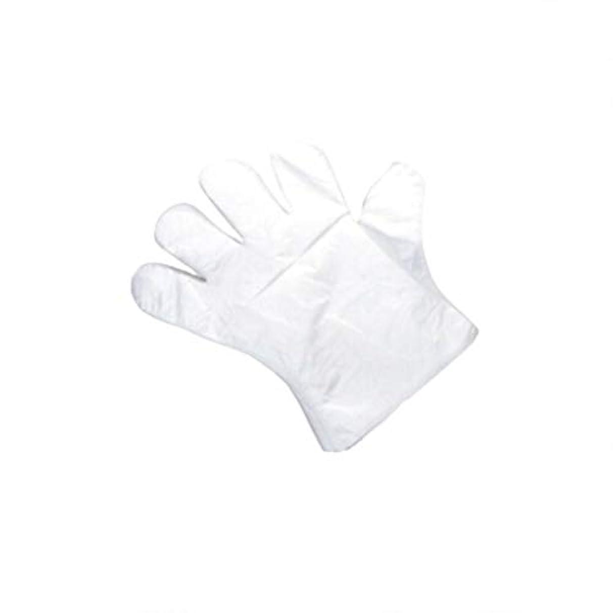 祭り滑りやすい逃げる手袋、使い捨て手袋、肥厚、抽出手袋、テーブル、ピクニック、100スーツ。