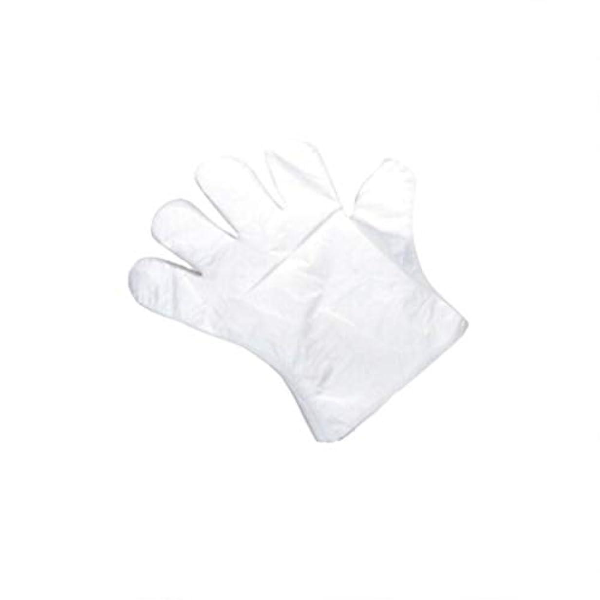後方野球住人手袋、使い捨て手袋、肥厚、抽出手袋、テーブル、ピクニック、100スーツ。