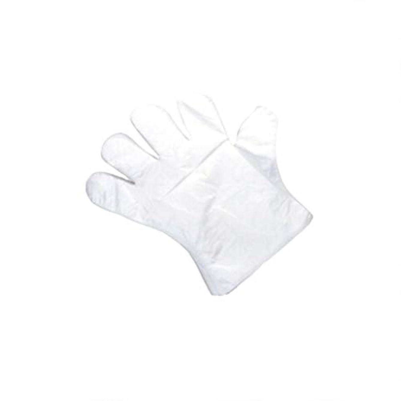 ぬれたデュアルチューブ手袋、使い捨て手袋、肥厚、抽出手袋、テーブル、ピクニック、100スーツ。