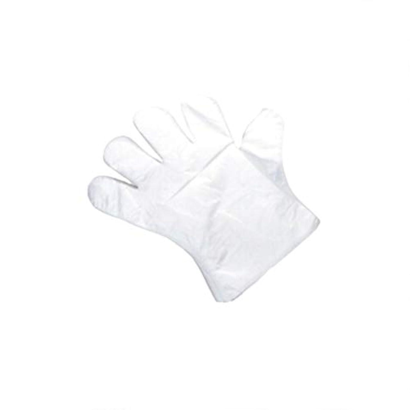 口径送る狼手袋、使い捨て手袋、肥厚、抽出手袋、テーブル、ピクニック、100スーツ。