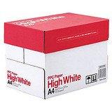 カラーが映える高白色!価格・紙厚・白さに 満足!コピー&レーザー用紙A4 500枚*5束入り(2500枚)