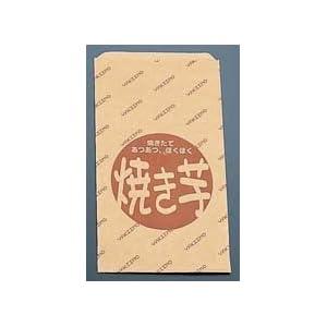 遠藤商事 使い捨て容器 薄茶色 縦×横(mm):280×160(マチ無し) 業務用 焼きいも 販売用紙袋 GYK5901 100個セット