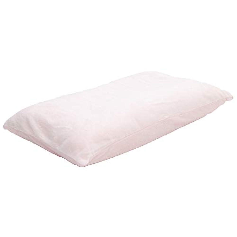 チキンためらうにじみ出るゆったりリッチ 低反発チップリバーシブル枕 ワイドサイズ 専用洗えるカバー付き 2人で使える ロング 大きい 夫婦 ファミリー 抱き枕 ゆったり 40X70cm PK