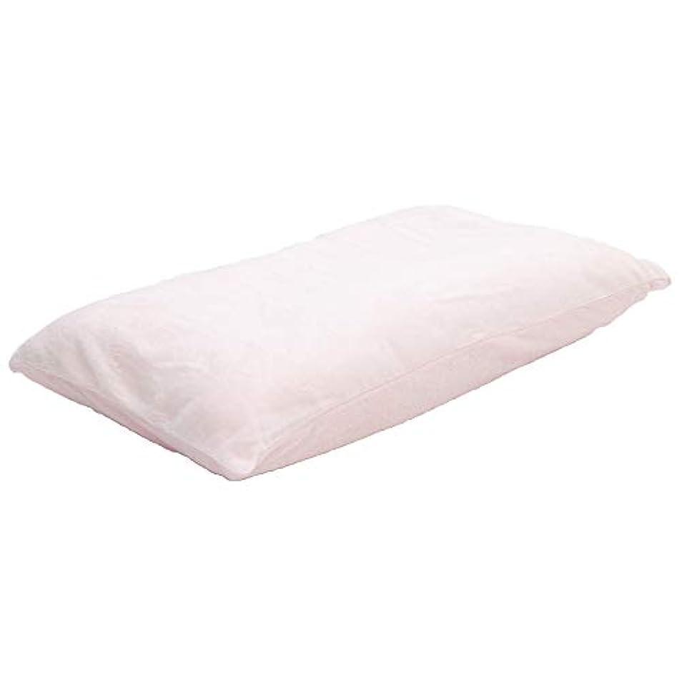 落ち着いたスリル開梱ゆったりリッチ 低反発チップリバーシブル枕 ワイドサイズ 専用洗えるカバー付き 2人で使える ロング 大きい 夫婦 ファミリー 抱き枕 ゆったり 40X70cm PK