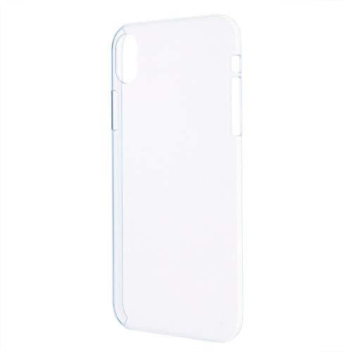 iPhone XR ハード クリア ケース シンプル バック カバー 透明 無地 アイフォーン アイフォン テンアール apple アップル スマホケース スマホカバー ポリカーボネート製 クリア