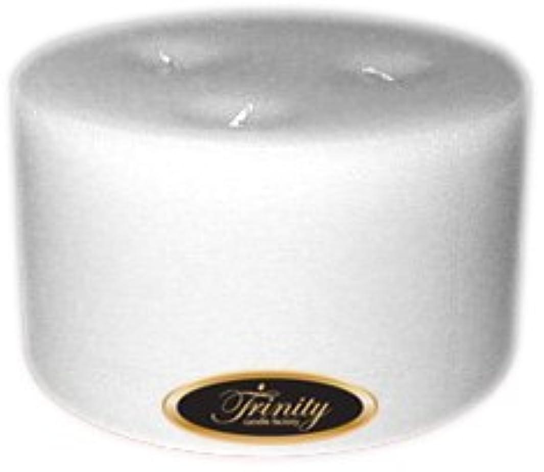 岩交通渋滞ケーブルカーTrinity Candle工場 – ホワイトクリスマス – Pillar Candle – 6 x 3