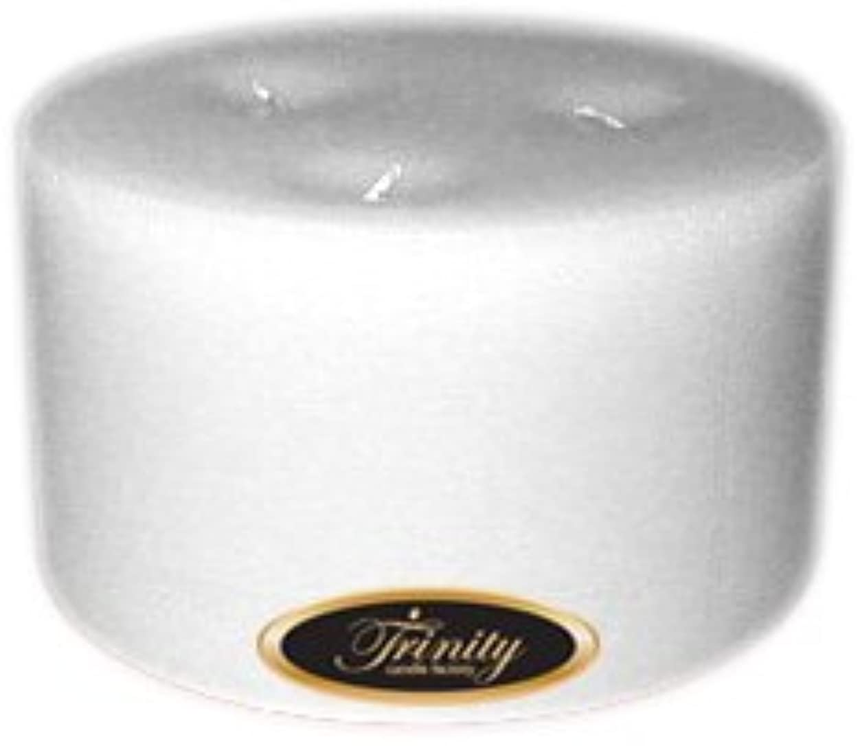 瞳ポーター礼儀Trinity Candle工場 – ホワイトクリスマス – Pillar Candle – 6 x 3