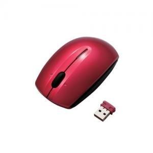 エレコム 3ボタン光学式ワイヤレスマウス レッド M-D20DRRD