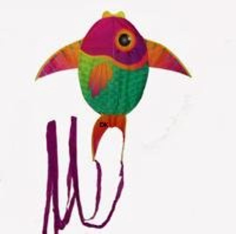 x-kite Mini Nylon Kite with String ;魚: 23インチ翼幅