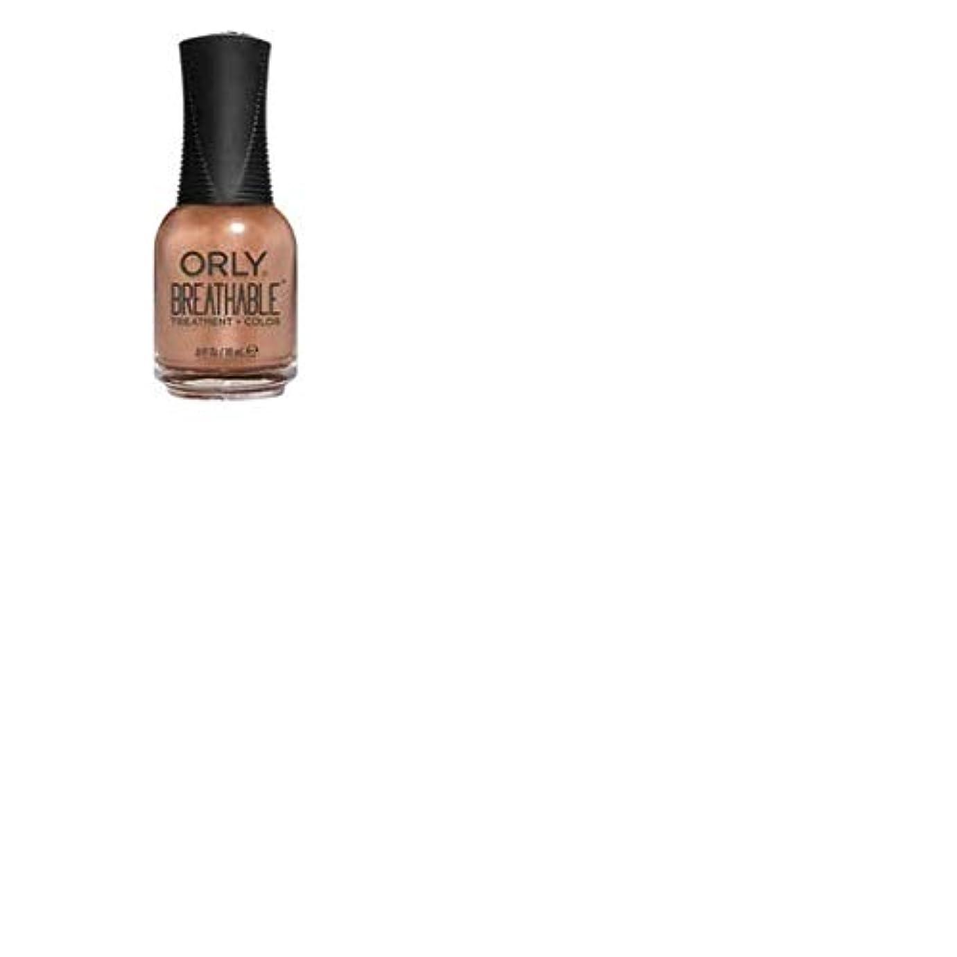 オークションタイプ少ないORLY Breathable Lacquer - Treatment+Color - Comet Relief - 18 mL / 0.6 oz
