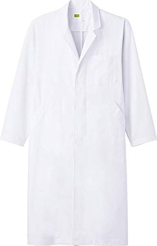 供給楽しい遮る白衣 ドクターコート メンズ シングル 白 M WH2114
