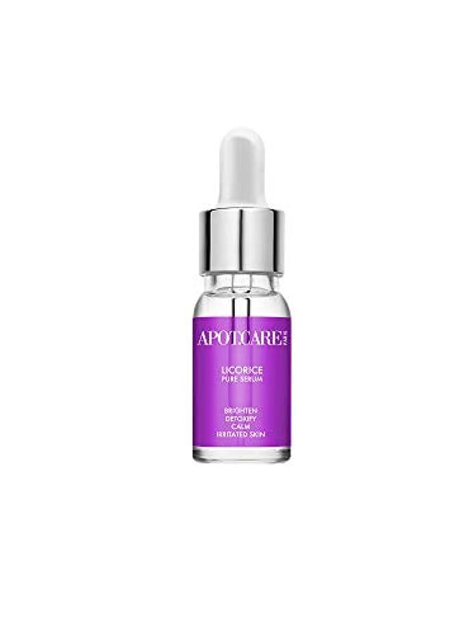 パーセント新鮮な前提Apot.Care LICORICE Pure Serum - Detoxify 10ml/0.34oz並行輸入品