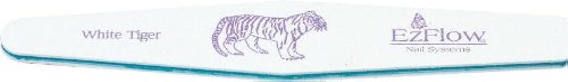 コンパニオンラショナル砦EzFlow ホワイトタイガー 100/100  荒目 ファイル