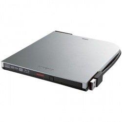 バッファロー BDXL対応 USB2.0用ポータブルブルーレイドライブ スリムタイプ シルバー BRXL-PT6U2V-SVD 1台