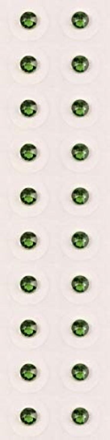 悲しむ形ガラガラ【ファーングリーン/ss12/セラミック粒】耳つぼジュエリー20粒【全50色】