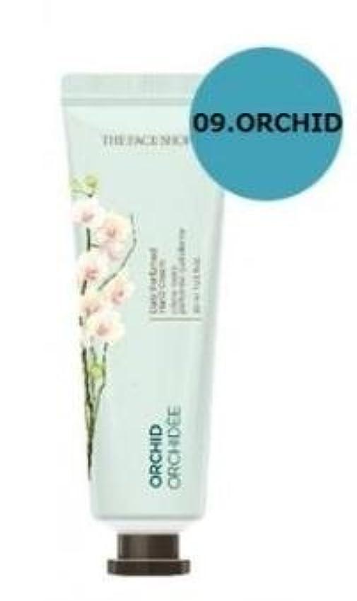 見せます精巧な言語THE FACE SHOP Daily Perfume Hand Cream [09. Orchid] ザフェイスショップ デイリーパフュームハンドクリーム [09.オーキッド] [new] [並行輸入品]