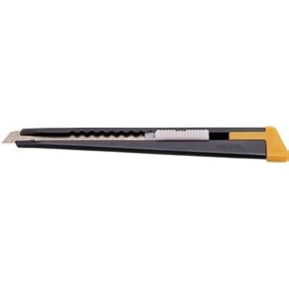 (まとめ)アーテック 金属柄 カッターナイフ オルファブラック2B 【×30セット】