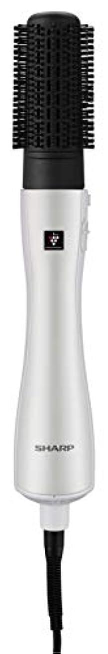 コンペ恐怖症レオナルドダシャープ カールドライヤー プラズマクラスター搭載 ホワイト IB-CB58-W