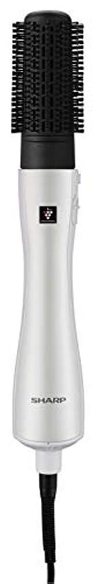 バックアップ騒ぎ未知のシャープ カールドライヤー プラズマクラスター搭載 ホワイト IB-CB58-W