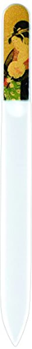 サスペンション杭の中で橋本漆芸 ブラジェク製高級爪ヤスリ 十二月 椿 OPP
