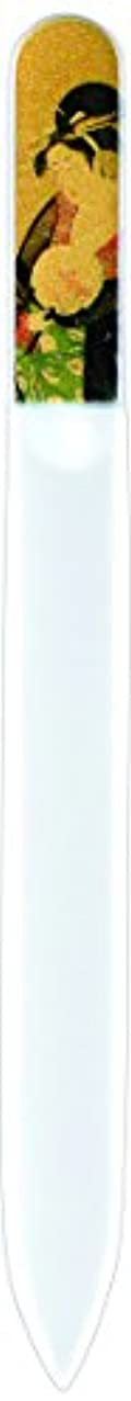 ペンダントスタッフ小屋橋本漆芸 ブラジェク製高級爪ヤスリ 十二月 椿 OPP
