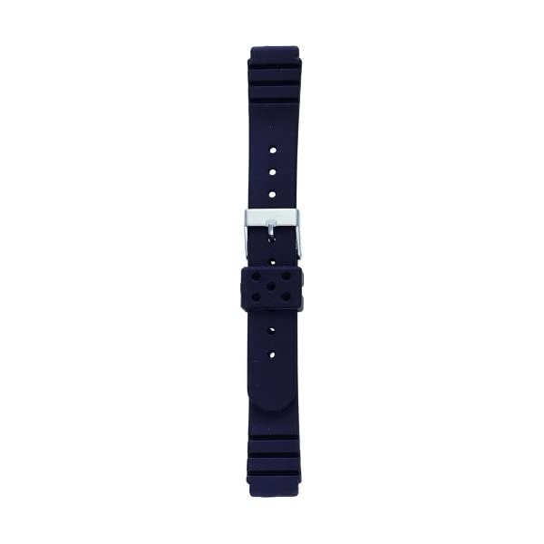 BAMBI 時計バンド ウレタン 黒 14mm ...の商品画像