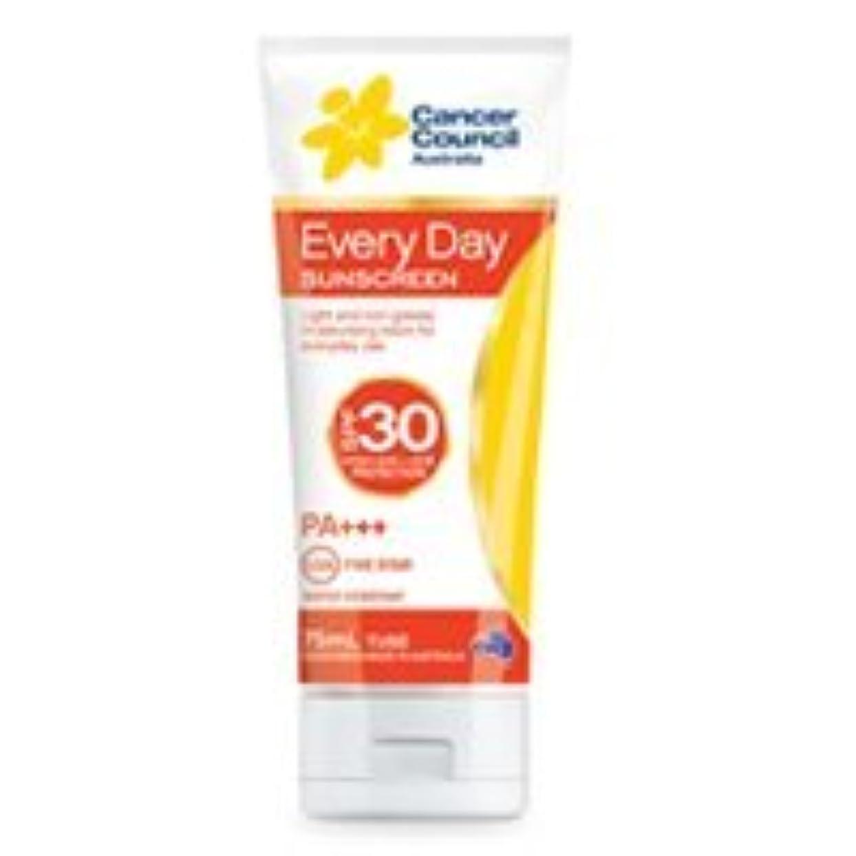 アンタゴニスト余裕があるCancer Council Australia Everyday Sunscreen Moisturizing Lotion SPF 30 PA+++ High UVA + UVB Protection, 75ml by...