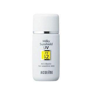 アクセーヌ ミルキィサンシールド<N></p>SPF32・PA++ 30ml 【日焼止め乳液】