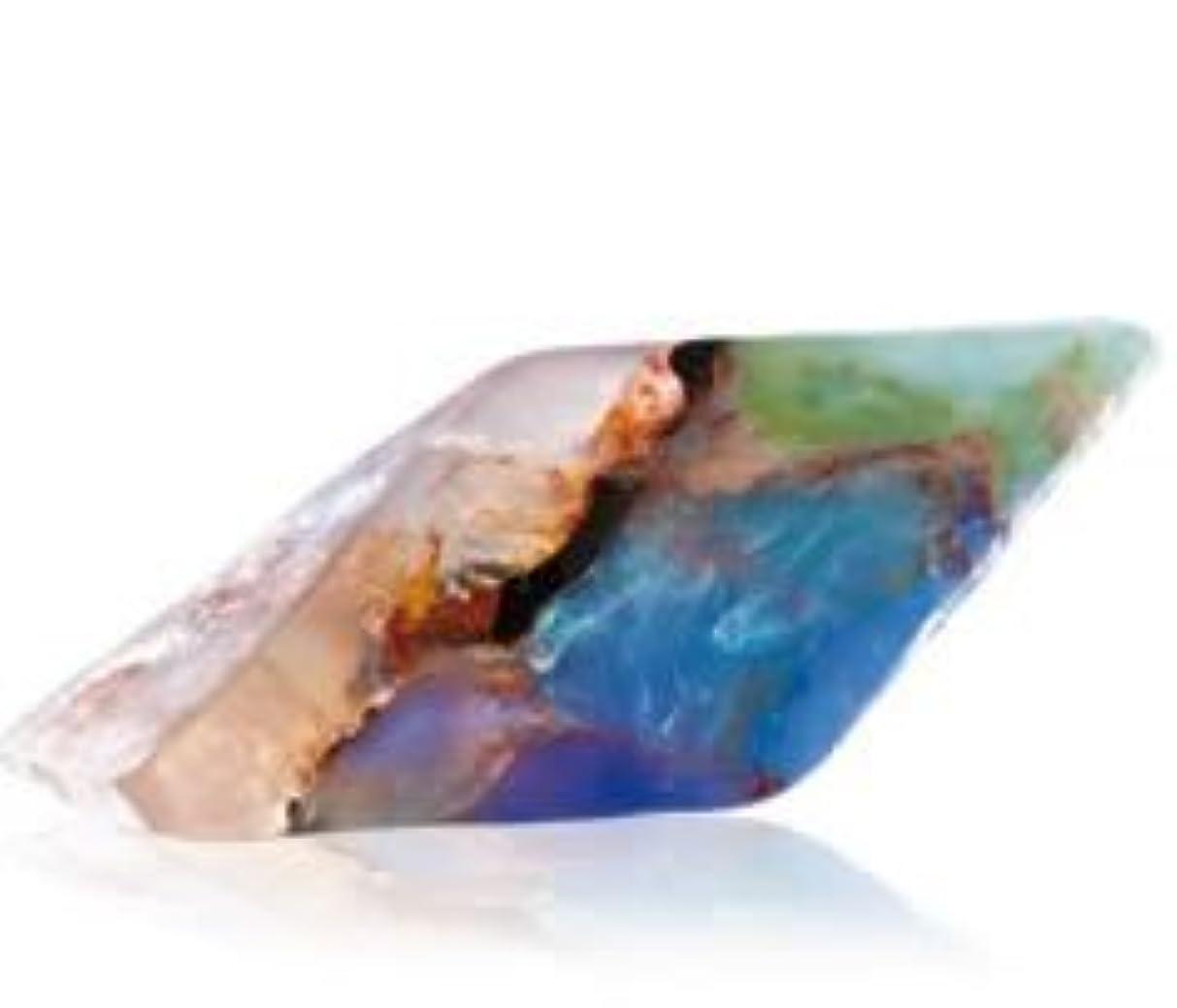 真実手のひらスカリーSavons Gemme サボンジェム 世界で一番美しい宝石石鹸 フレグランスソープ ブラックオパール 170g