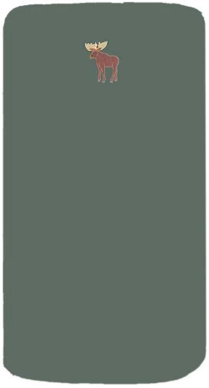 Patch Magic 30-Inch by 50-Inch Moose Sheet Set Crib [並行輸入品]