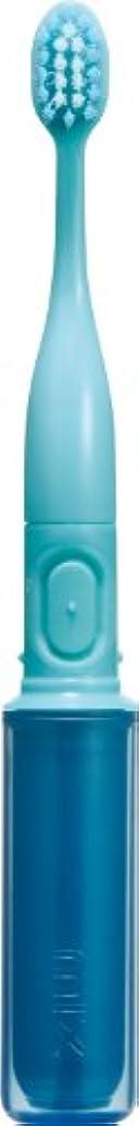 無限かんたん例ラドンナ 携帯音波振動歯ブラシ mix (ミックス) MIX-ET ブルー